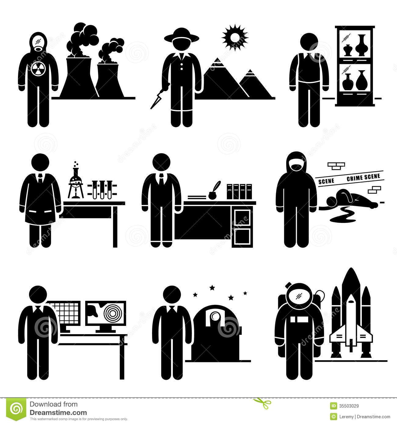 Scientist Professor Jobs Occupations Careers