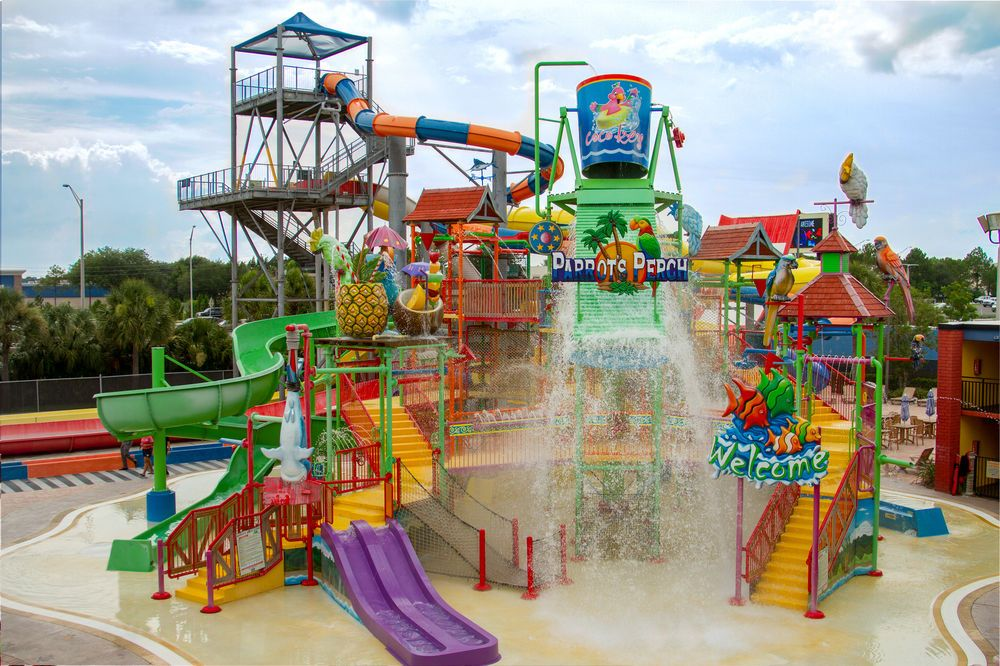 Orlando Hotels with water parks, Park resorts, Coco key