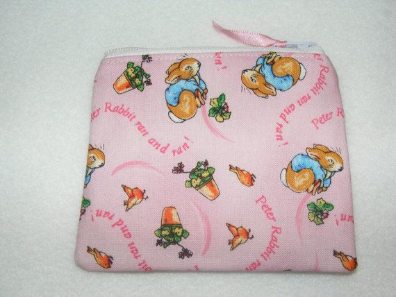Peter Rabbit Ran & Ran' Pink Beatrix Potter by BagsandTagsLindaG, £3.50