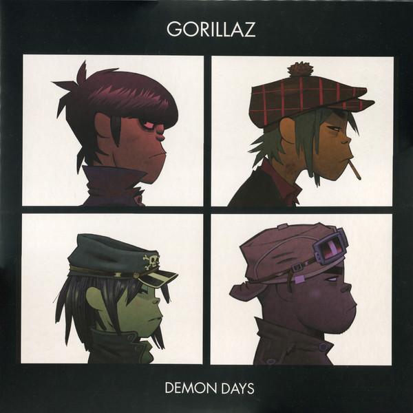 Gorillaz Demon Days Vinyl Lp Album Club Edition Reissue Remastered Discogs Em 2020 Capas De Albuns Desenho Artistas