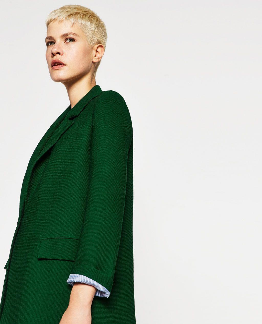 Shop Zara Coat Thrift Coat Masculine From Pinterest w7Ipxf1qw8