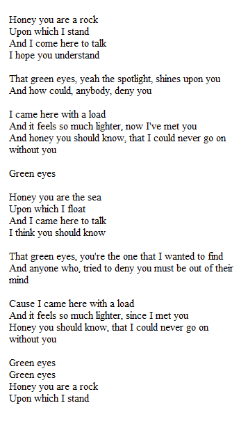 Here Are The Top Coldplay Songs Chosen By Fans Green Eyes My Only