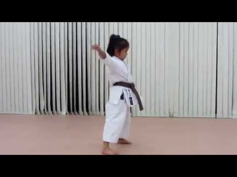Amazing 6 Year Old Prodigy Doing Karate Kata Youtube Karate