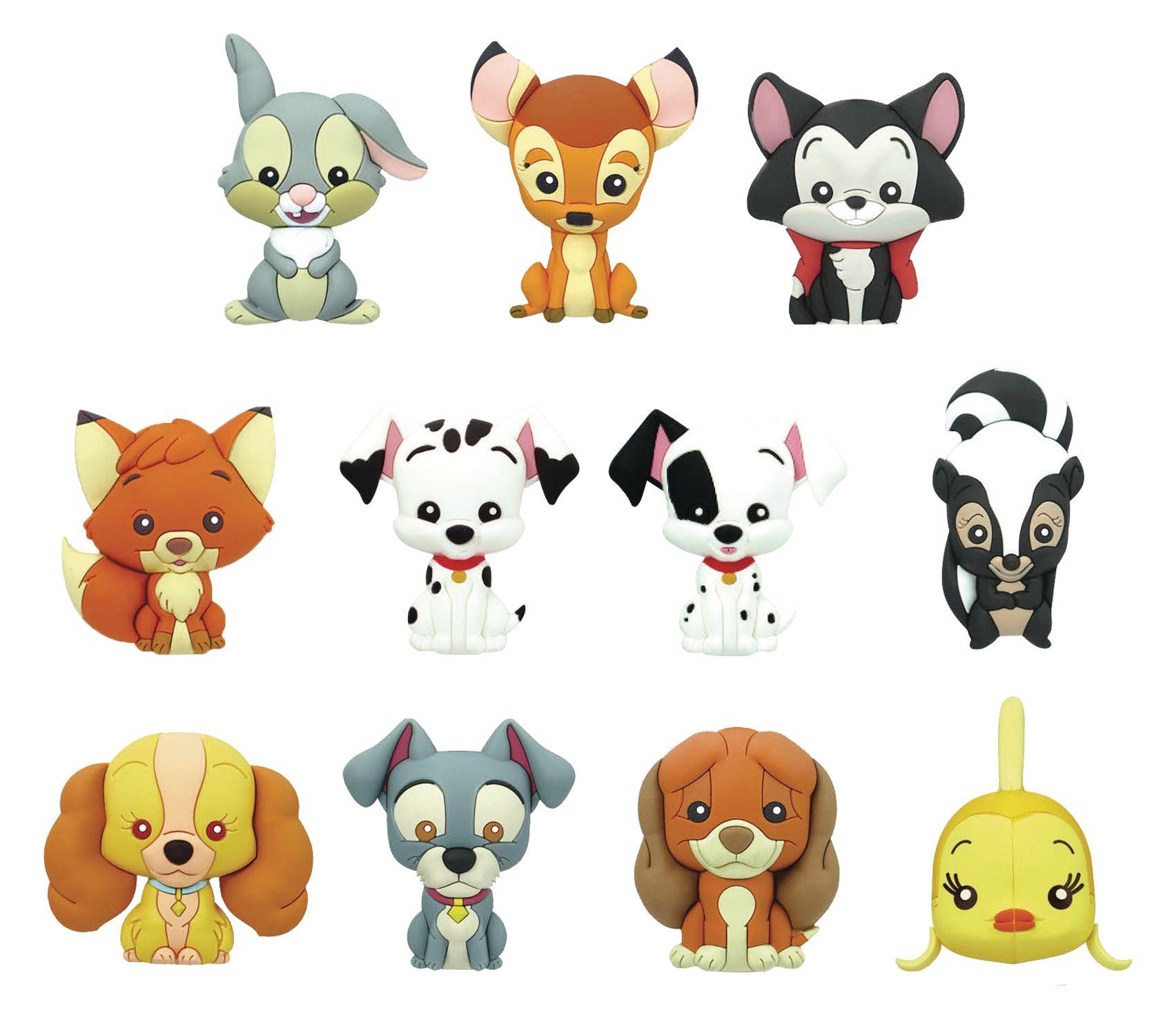 Monogram Disney Chibi Bambi Keychain