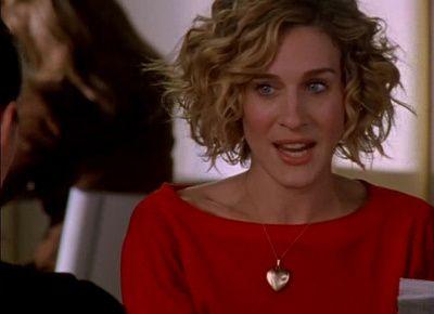 Pin By Sara Katherine Staheli Hanks On Hair Dreams Carrie Bradshaw Hair Curly Hair Styles Short Hair Styles