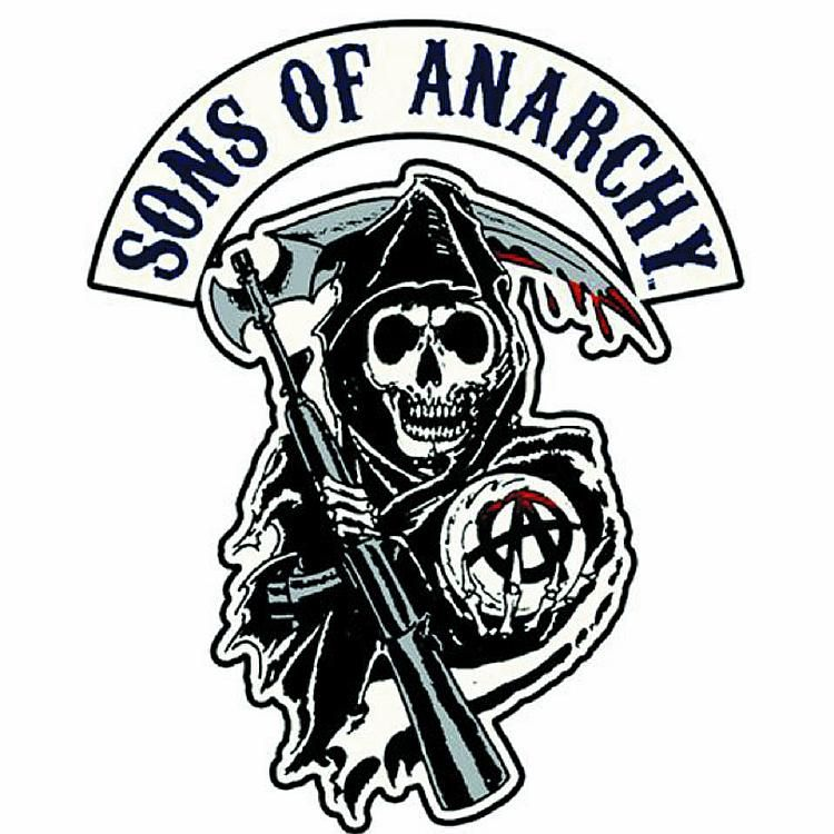 sons of anarchy final season logo sons of anarchy reaper logo rh pinterest com