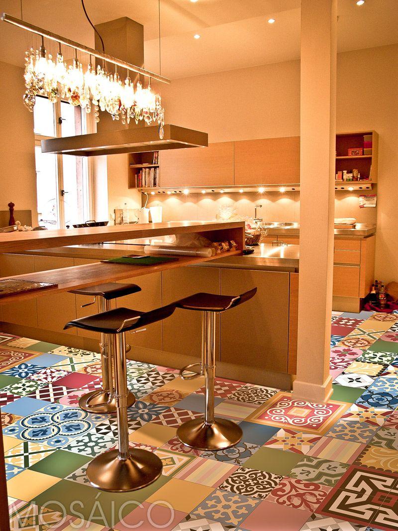 Patchwork trend farbvielfalt zementfliesen mosaico floor pinterest house - Zementfliesen koln ...