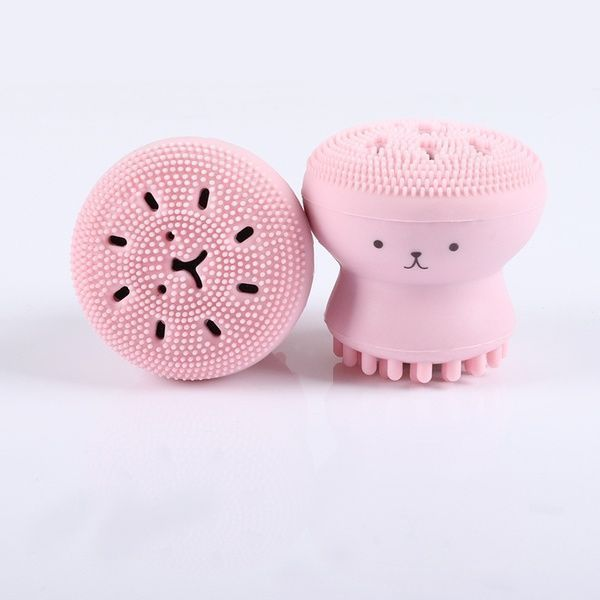 Photo of Facial Cleanser Face Brush Cute Octopus Spot Acne Mit …