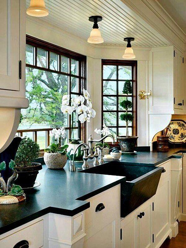 Black and White 45+ Sensational kitchens to inspire Amiiis