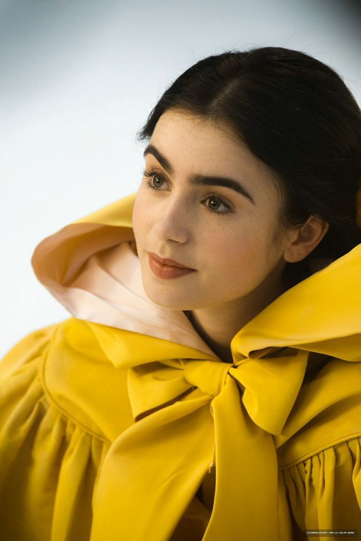 Lily Collins Eyebrows Snow White