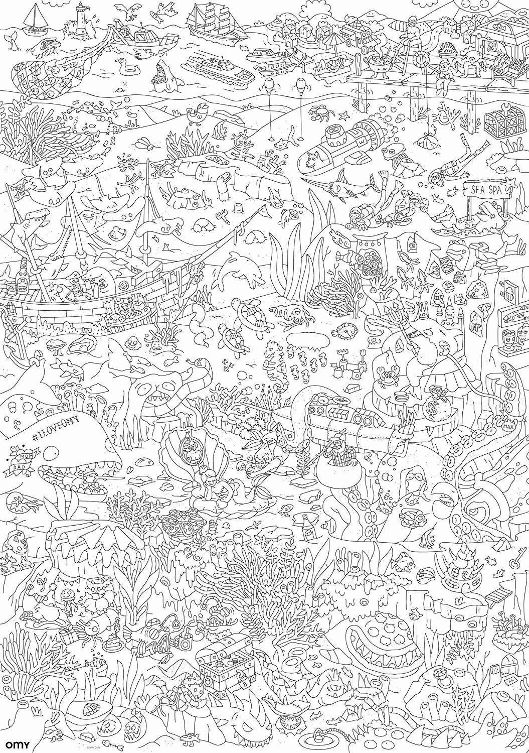 - Large Coloring Posters For Adults Di 2020