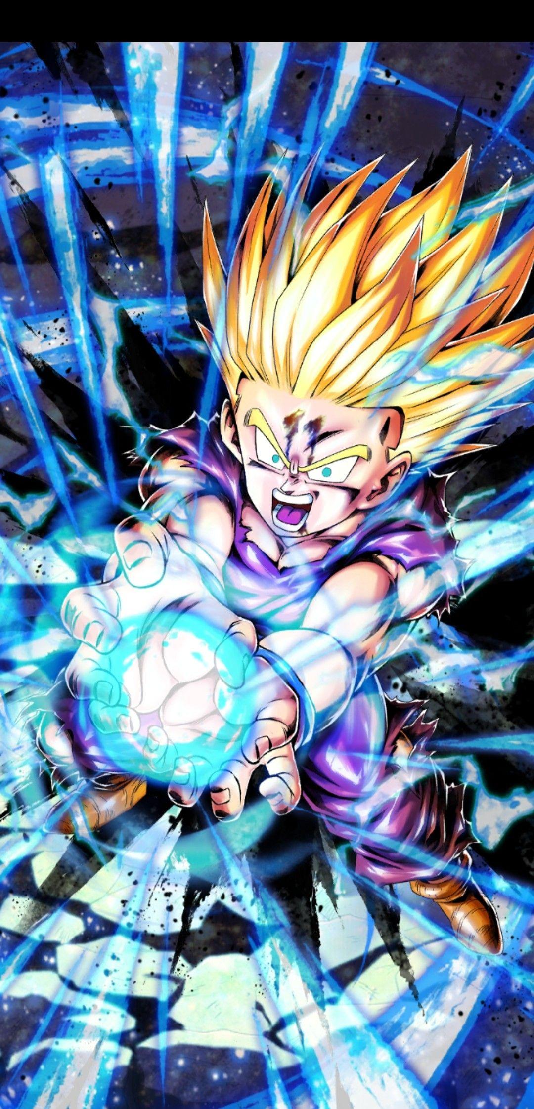Gohan Ssj F2 Dragon Ball Artwork Anime Dragon Ball Super Dragon Ball Wallpapers