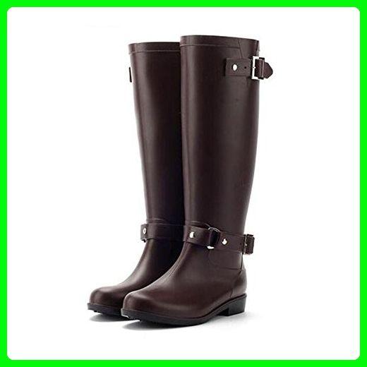 Haodasi Fashion Damen Wasserdicht Rainboots Regen Stiefel High Tube Gummi Regen Schuhe Shoes Anti-rutschend Wasser Schuhe Ro7bgO9vC