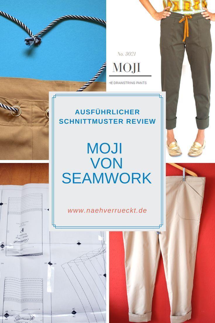 Schnittmuster Review: Jeans Moji von Seamwork | Jeans nähen