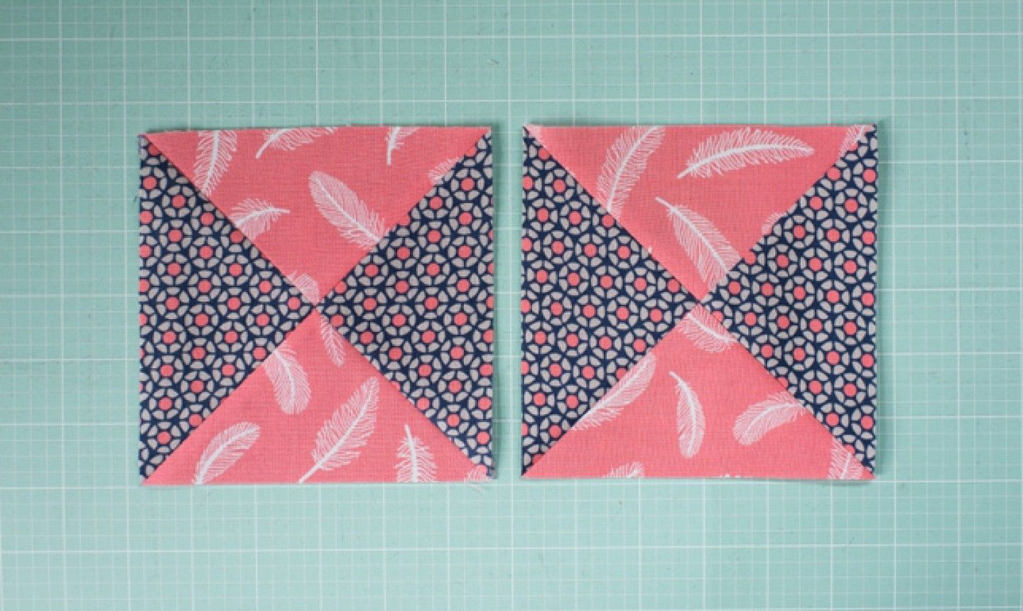 It S Time To Learn How To Sew A Quarter Square Triangle