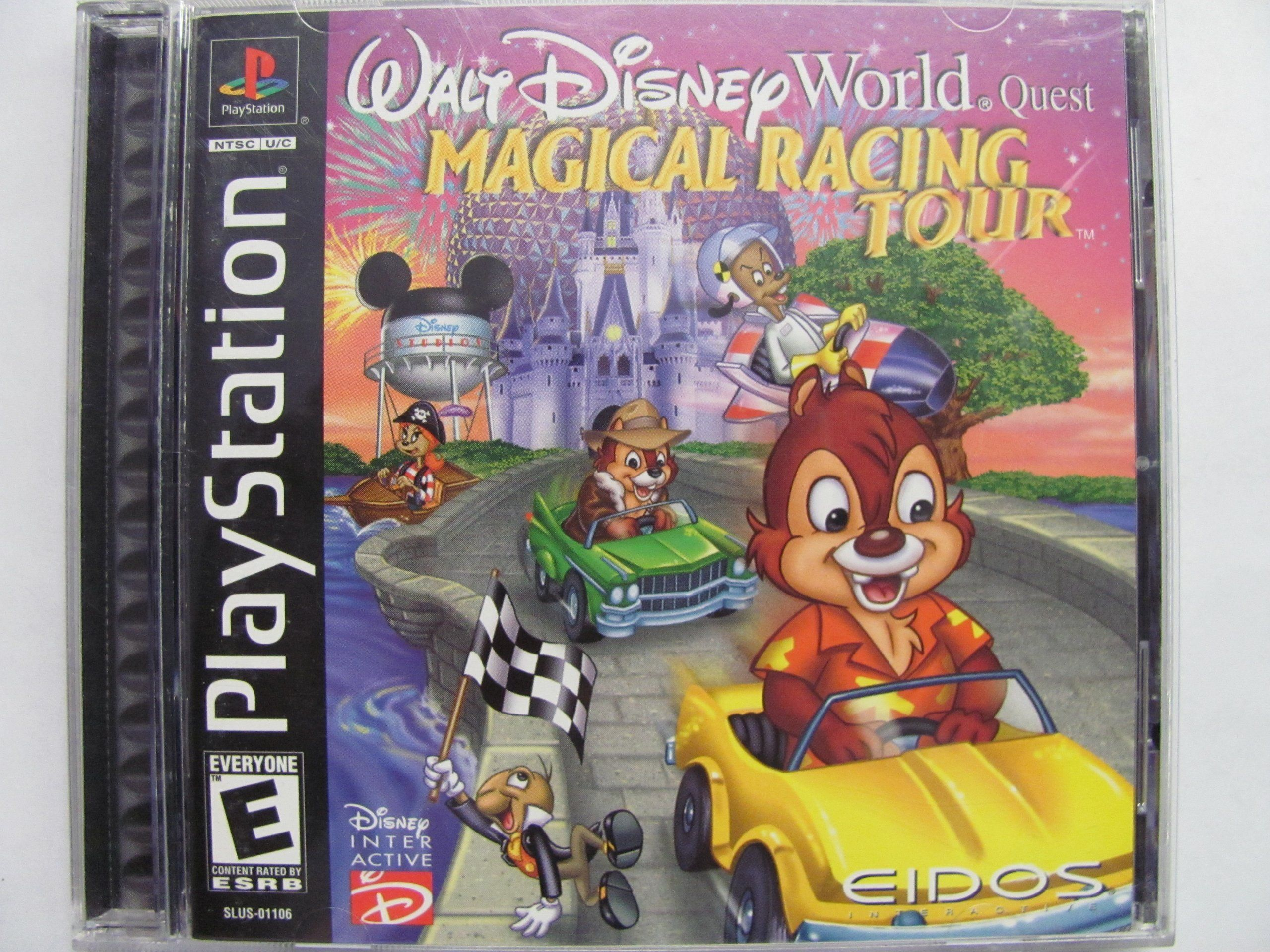 Amazon Com Walt Disney World Quest Magical Racing Tour