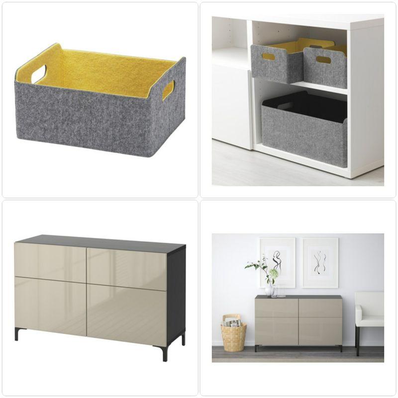 Möbel aus der Ikea Besta Kollektion Möbel - Designer Möbel