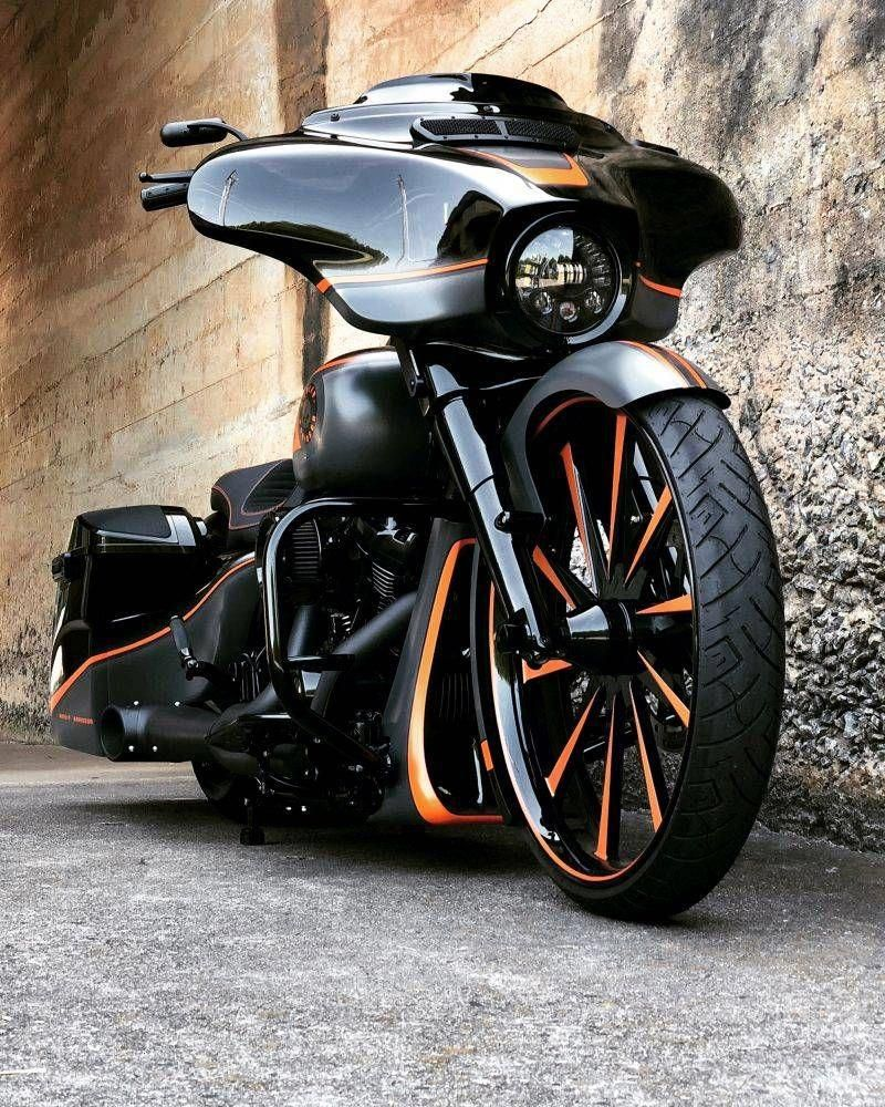 Harley Davidson Street Glide Bagger Custom By The Bike Exchange 7