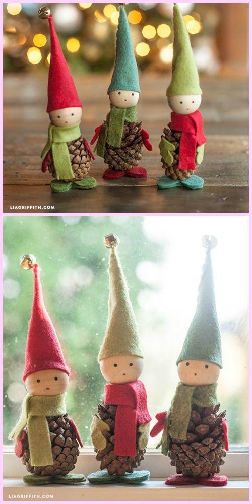 DIY Pinecone Fairy Tutorials
