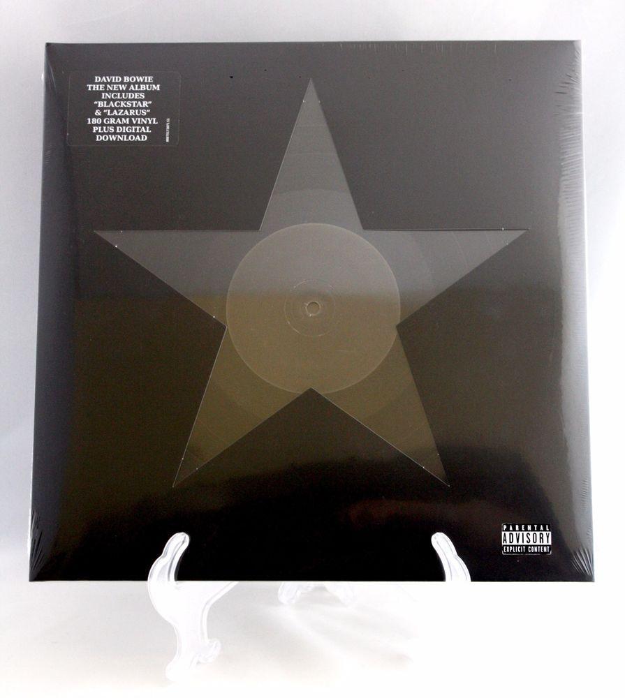 David Bowie Blackstar Vinyl Lp Record 180g 2nd Uk Eu Edition New Download Code David Bowie Vinyl Bowie