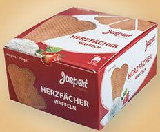 http://www.jaspert-waffeln.de  Unsere Jaspert Waffeln sind feinstes Konditorenhandwerk. Sorgfältig ausgewählte Zutaten und knusprig fein gebacken nach traditionellen Rezepturen.   Jaspertwaffel! Ein Original für Eisdielen & Gastronomie seit 1927.