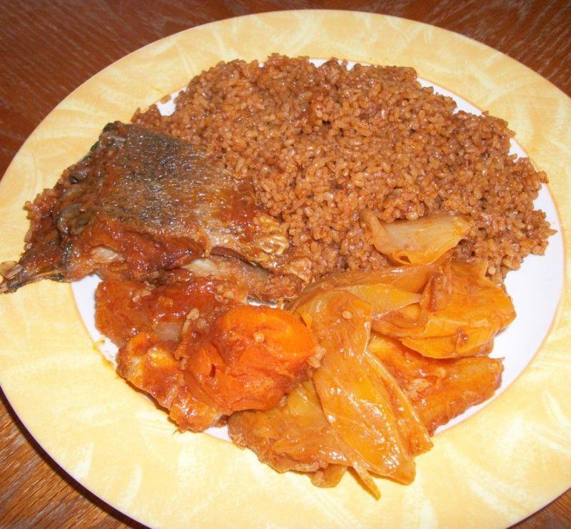 Tiep Bou Dien Recette Africaine Classique De La Cuisine