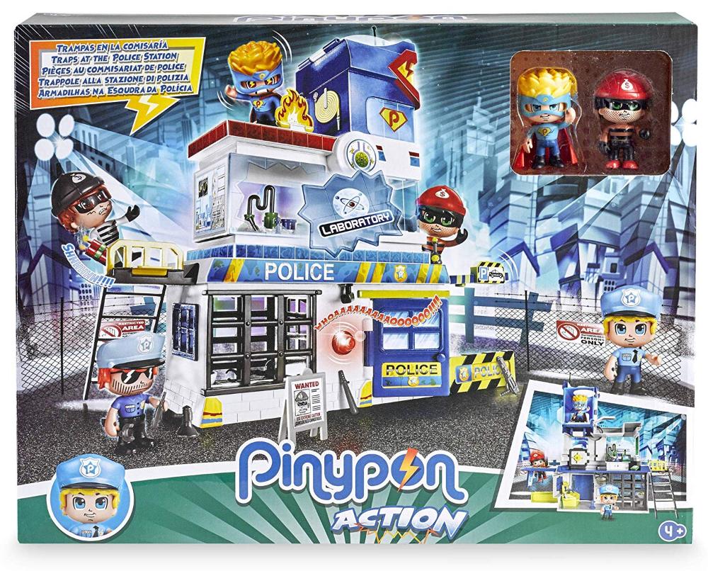 Pinypon Trampas En La Comisaría Fa700014493 Figuras De Acción Patrulla Canina Juguetes Juguetes Nuevos