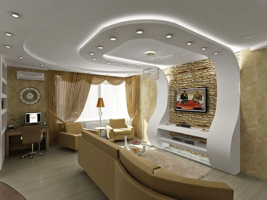 Gypsum Ceiling Designs For Living Room Custom 17 Amazing Pop Ceiling Design For Living Room  Pop False Ceiling Review