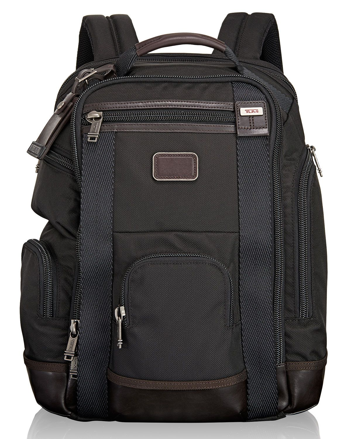 Tumi Alpha Bravo Hickory Shaw Deluxe Brief Pack