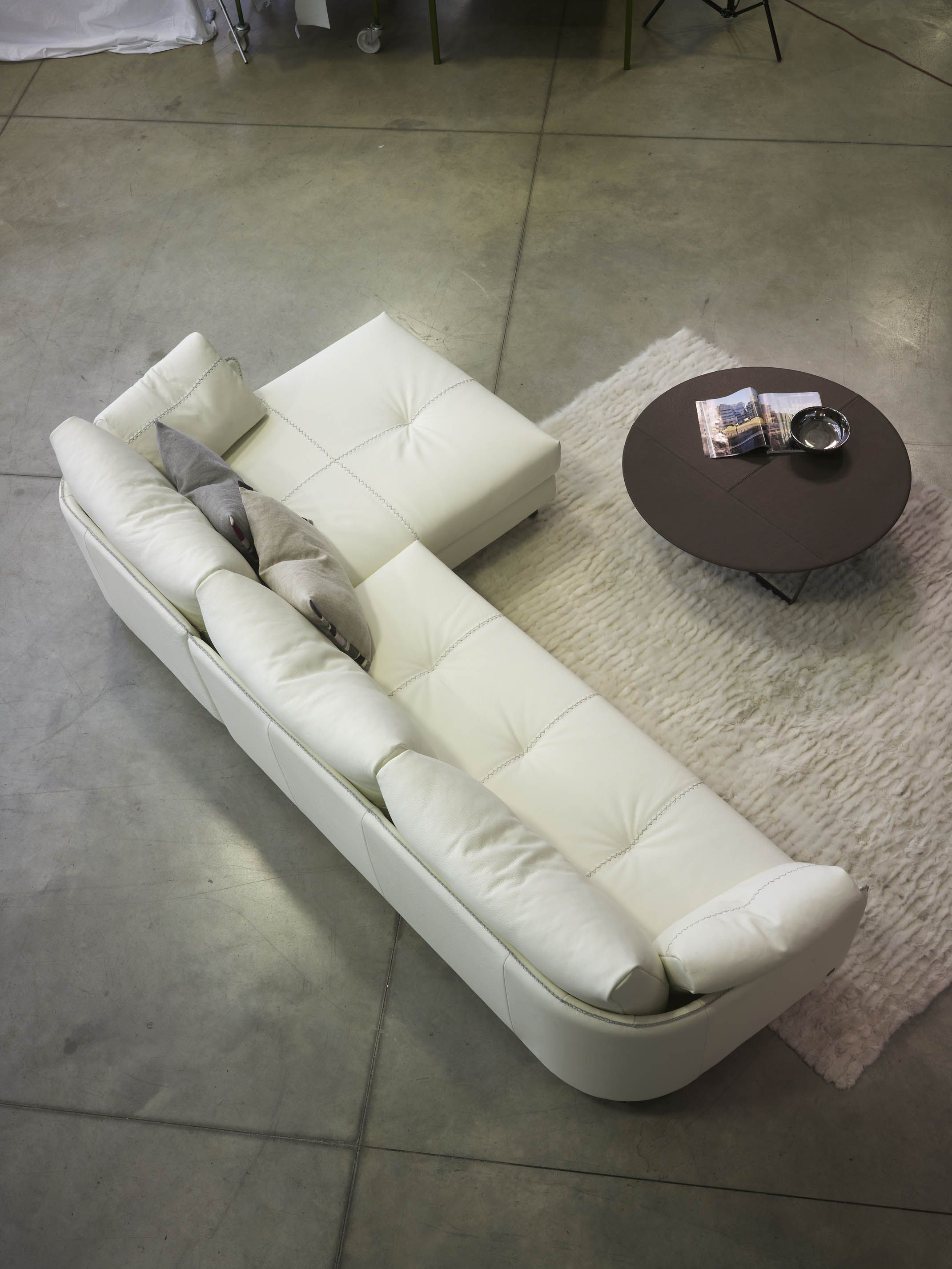 Wave Sectional Sofa by Gamma Arredamenti