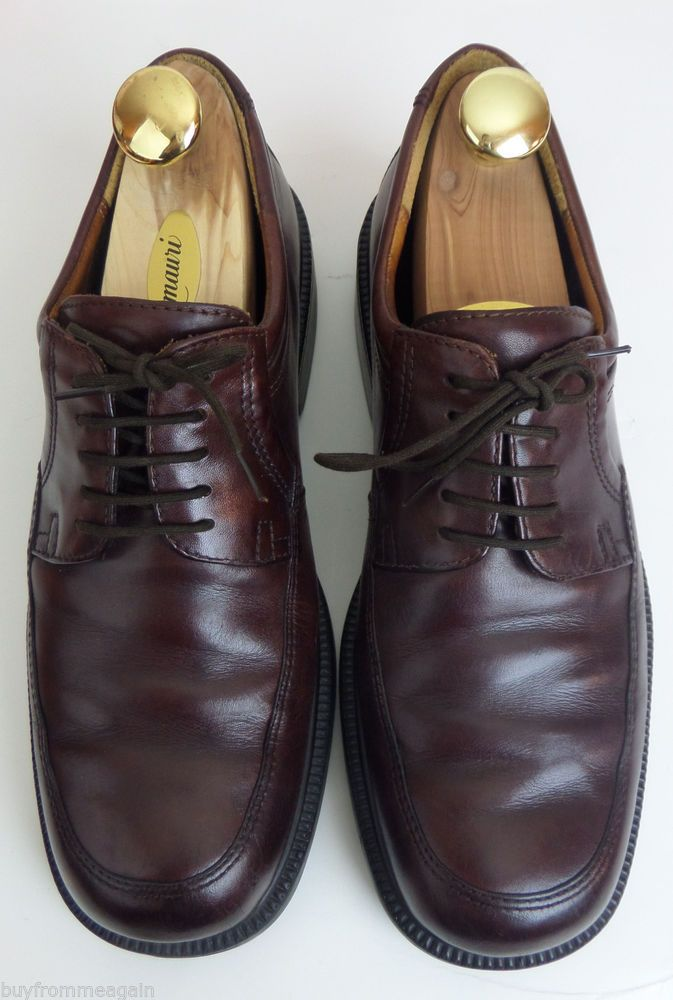d0d33d8a70d ECCO City Brown Shoes Men Lace Up 11 US 44 EU Leather Made in Portugal   Shoes  Fashion  Deal