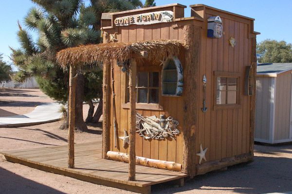 Rustic Fishing Shed Decorating A Storage Shed Storage