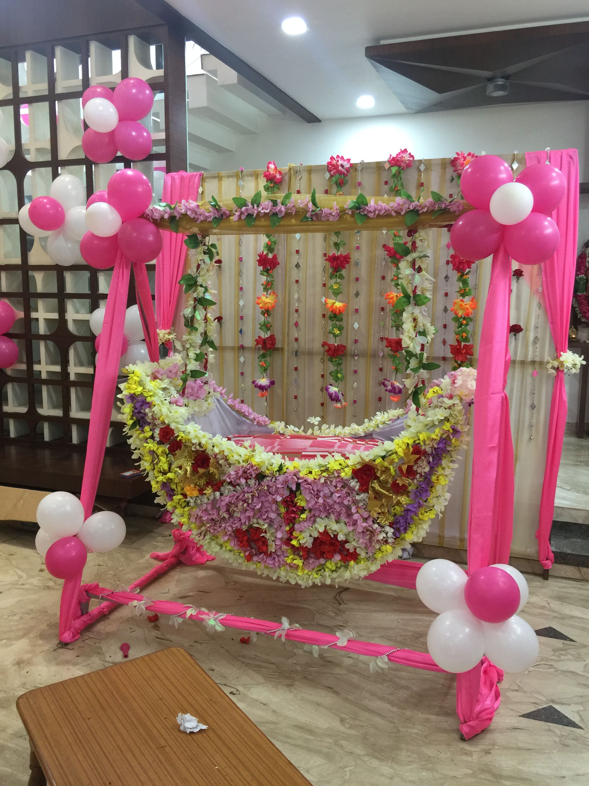 Cradle Cermony Decor In 2019 Cradle Ceremony Naming Ceremony