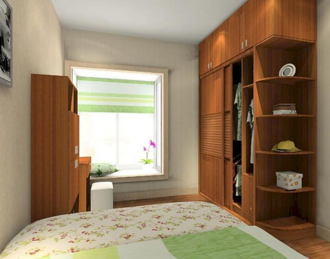 20 Fabulous Bedroom Cabinet Design That Look More Beautiful Teracee Simple Bedroom Design Small Bedroom Cupboards Bedroom Cabinets