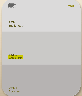 Best Gray Paint Colors Behr K Used Gentle Rain And Porpoise Family Room  Pinterest Gray .