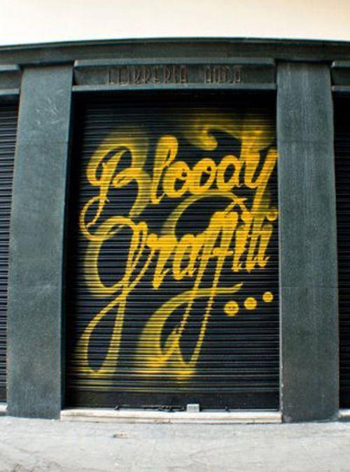 Bloody Graffiti