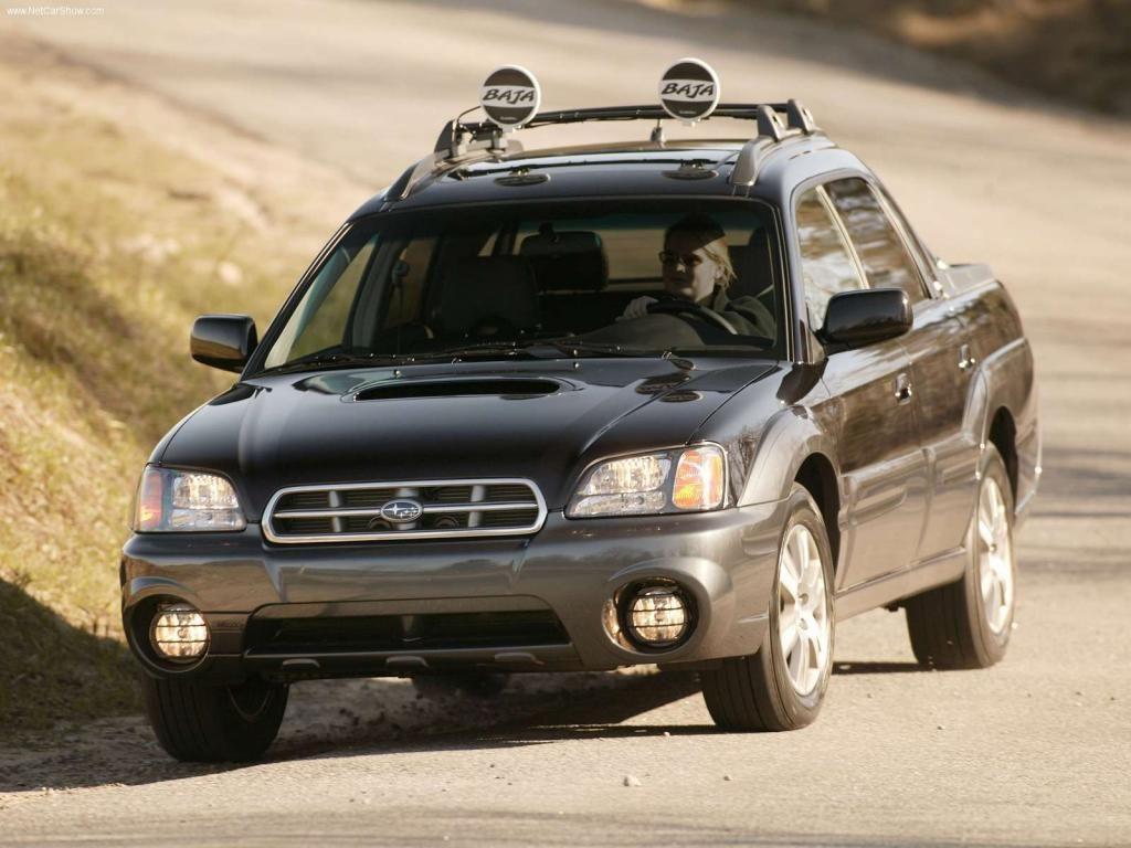 Top ten ugliest modern cars 2 subaru baja