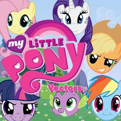 My little Pony 49 vectors graphics, digital clip art, digital ...