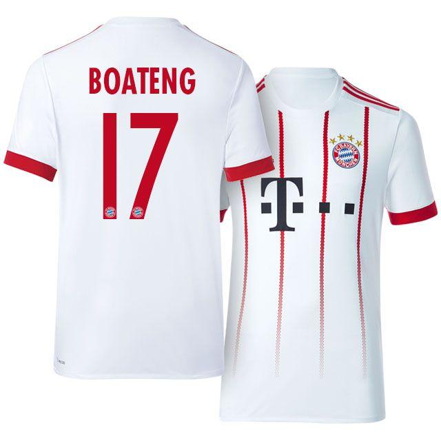 cadf262d6af Bayern Munich Jersey 17-18 Third jerome boateng | 2017 Bayern Munich ...