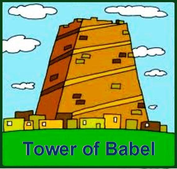 The Tower Of Babel Genesis 11 1 9 Torre De Babel Babel La