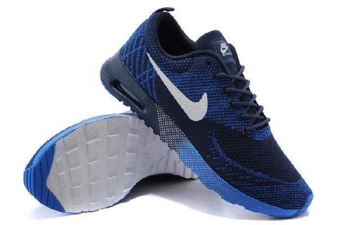 quite nice 537df 2744c Handel Hurtowy Nike Air Max 90 87 Thea Flyknit Granatowy Lady Buty