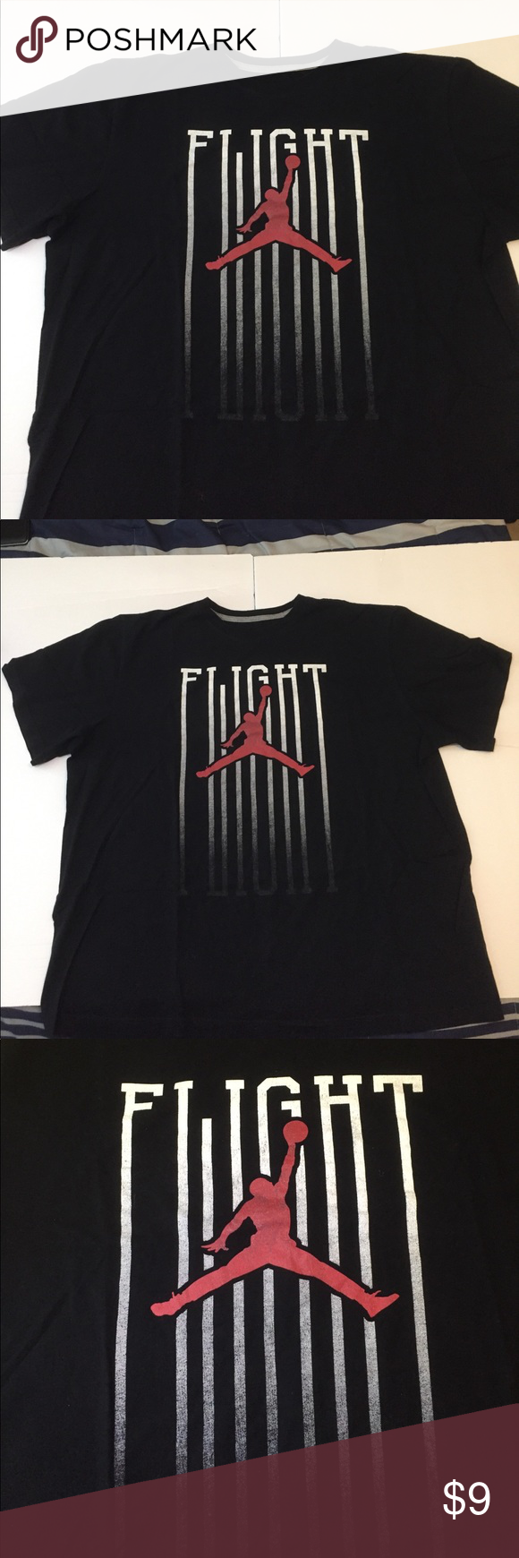 13dfad8bdce96b Flight Jordan Tee Good condition - a little faded on the shirt but still in  good condition Air Jordan Shirts Tees - Short Sleeve