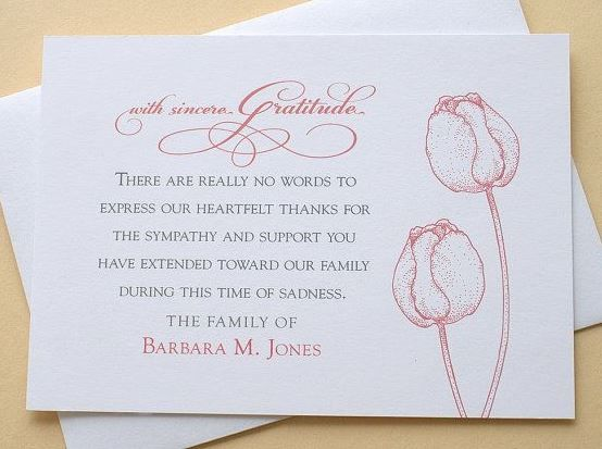 Funeral Words For Cards Beauteous Funeral Thank You Cards  Quotesfrasifunny  Pinterest .