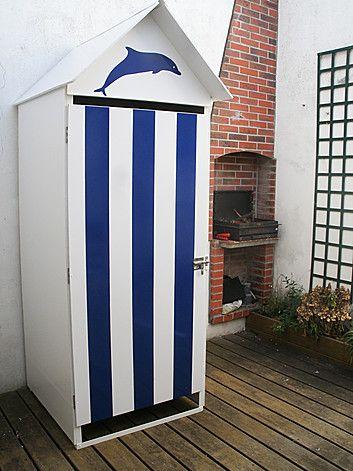 Cabine De Plage Simple Cabine De Plage Cabane De Plage Maison Ile De Re