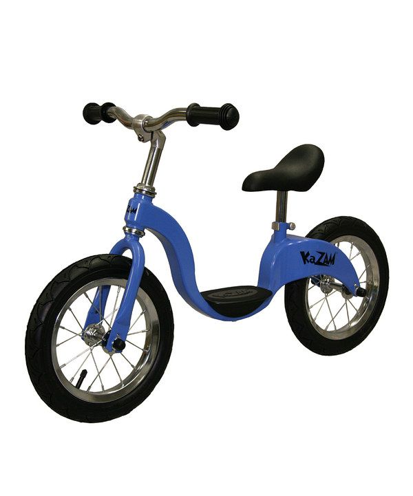 Look what I found on #zulily! Blue Balance Bicycle by KaZAM #zulilyfinds