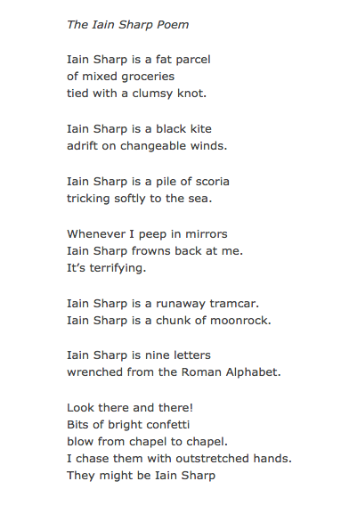 The iain sharp poem by iain sharp writing resources pinterest the iain sharp poem by iain sharp fandeluxe Choice Image