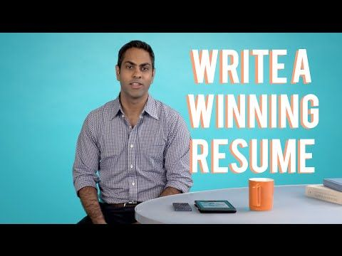Ramit Sethi Resume How To Write A Winning Resume With Ramit Sethi  Youtube  Job .