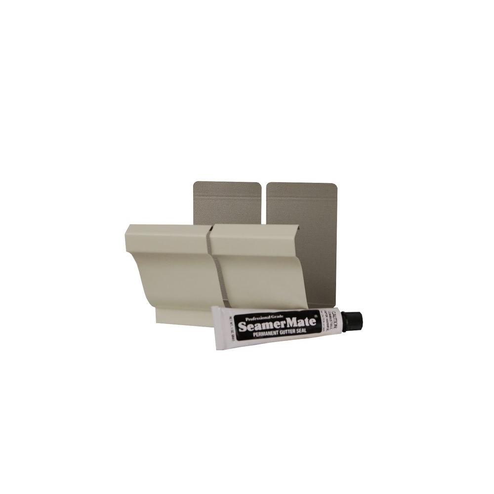 Amerimax Home Products 5 in  Bone Linen Aluminum Seamers