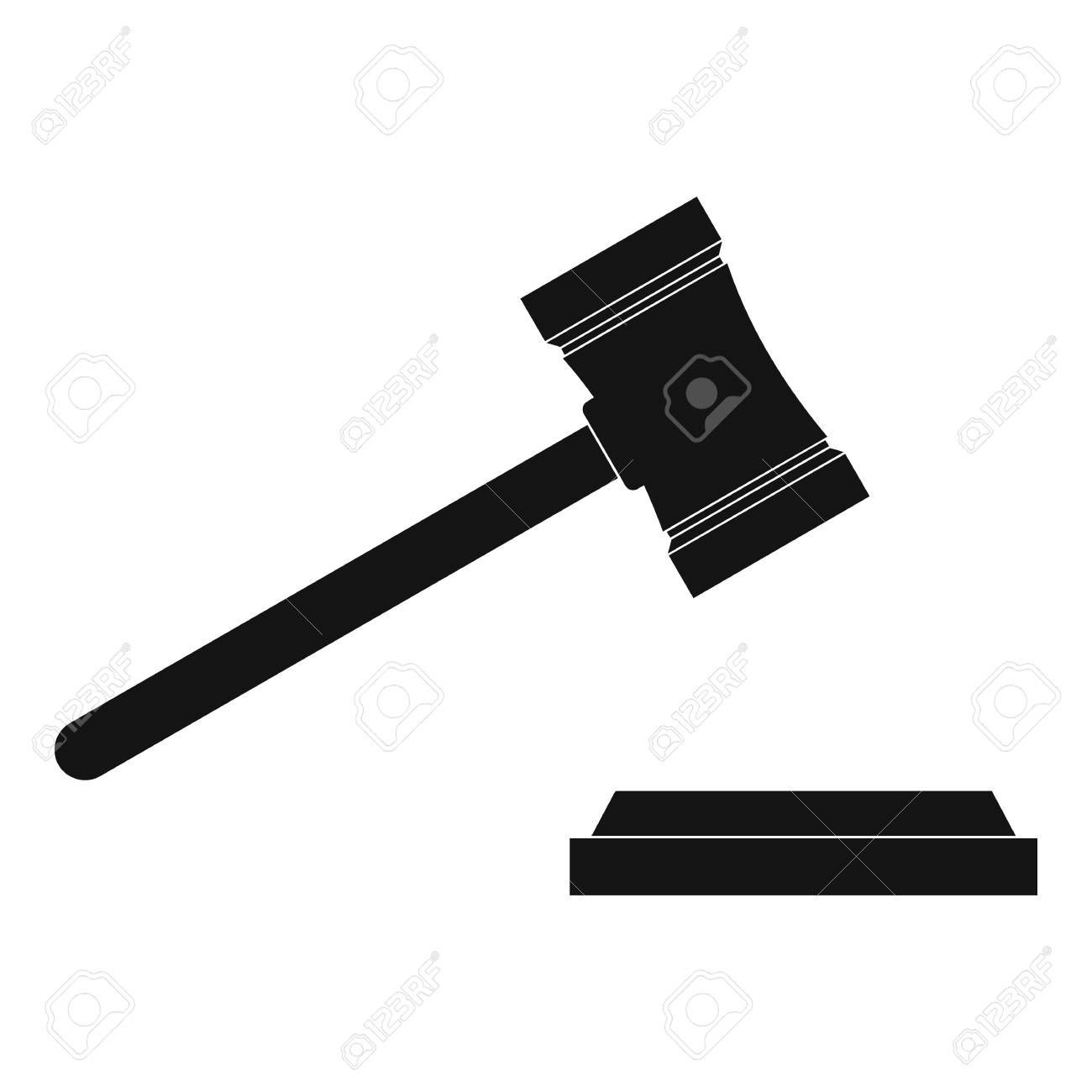Legal Gavel Icon Simple Illustration Of Legal Gavel Icon For Web Sponsored Icon Gavel L Simple Illustration Graphic Design Tutorials Design Tutorials