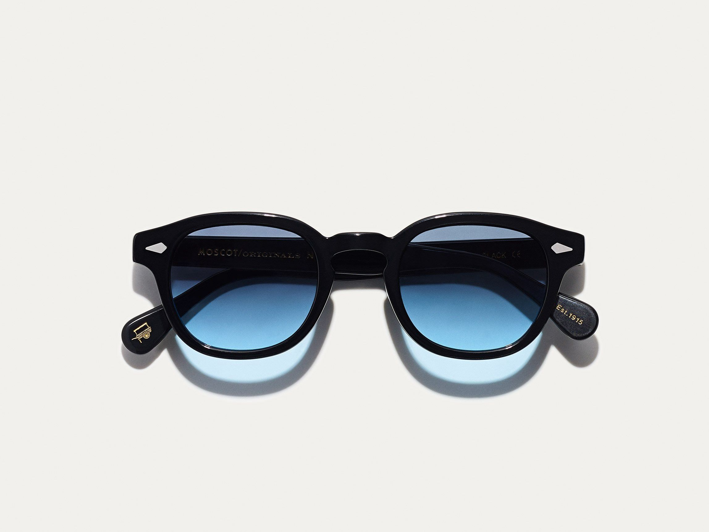 1b46a233ad7e Moscot Lemtosh Black With Denim Blue Tint - 44 in 2019   Products ...